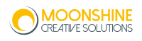 Freelance Artworker Moonshine Creative Solutions company logo