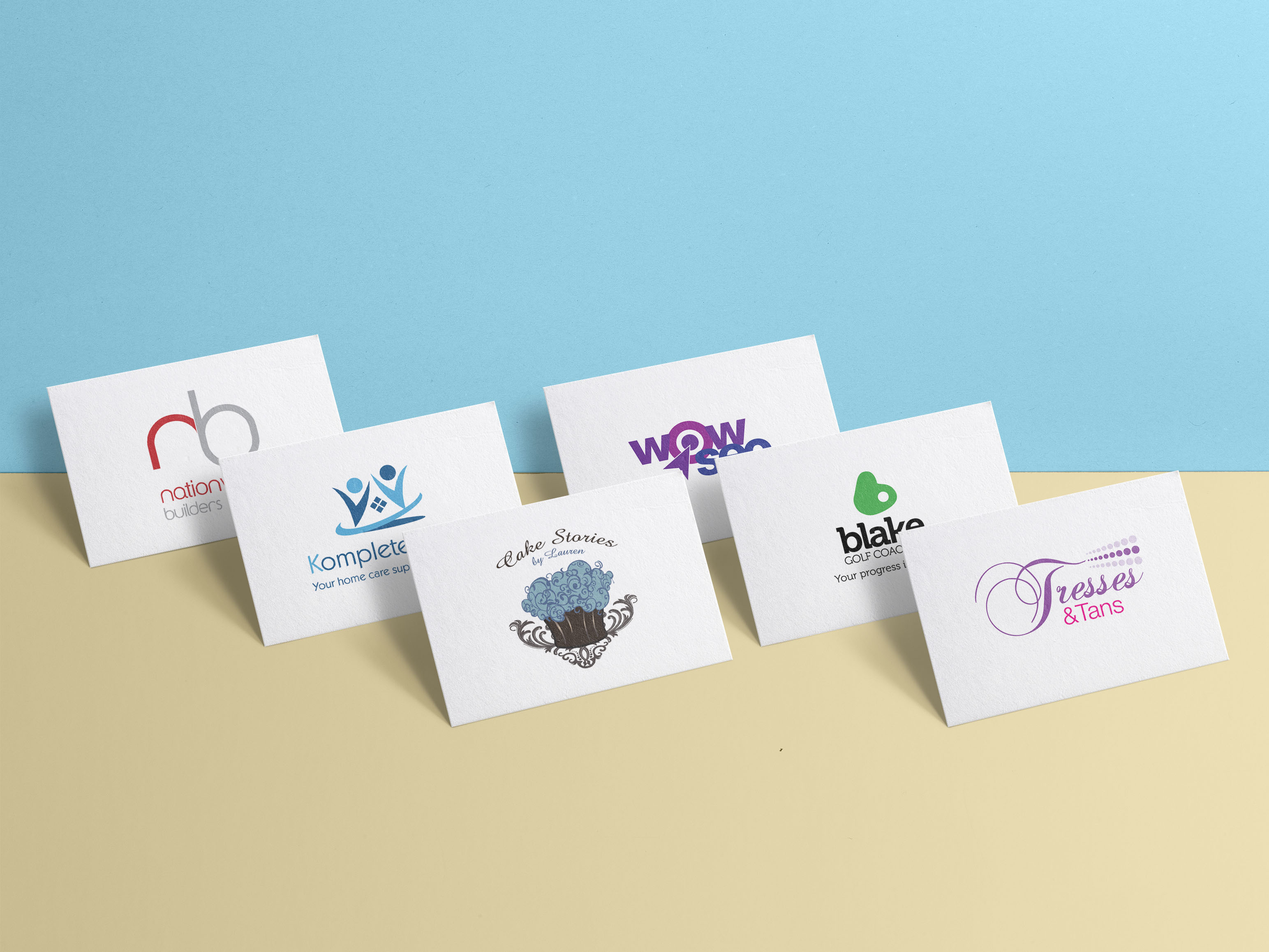 Freelance Artworker - Examples of various of logo designs